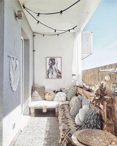 Bohemian balcony #balcony #outdoor #balkon #dakterras