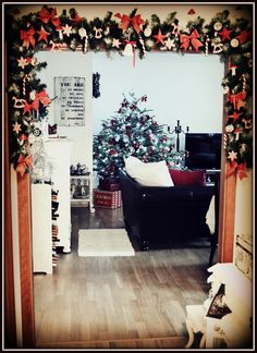 Christmas 2015 - my shabby white home