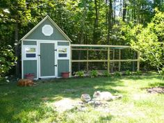 could use a prebuilt shed and do this...if you had that much space!