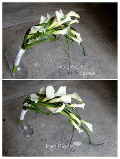 Piccole calle per la Sposa | Mag Florist ©