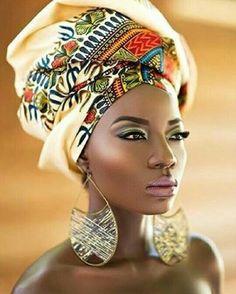 African queen turban