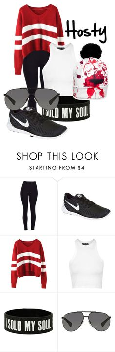 Love it! by prestypaulina on Polyvore featuring Topshop, NIKE, Dolce&Gabbana, women's clothing, women's fashion, women, female, woman, misses and juniors