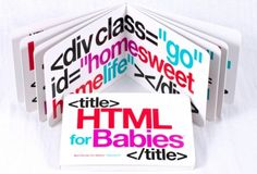 HTML for Babies Board Book