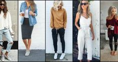 There's nothing better than an outfit that's comfortable and actually stylish, right? To get the best of both worlds, we have 15 totally casual outfit ideas for you to try. Scroll though for awesome style inspiration!