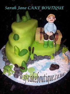 Fisherman cake by SJ Cake Boutique, via Flickr