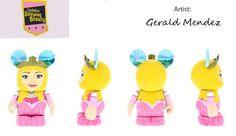 Sleeping Beauty Series Princess Aurora Pink Disney Vinylmation 3'' Figure Disney Vinylmation