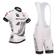 28.20$  Buy here - http://ai3fb.worlditems.win/all/product.php?id=32749570090 - 2016 New Team Seche High Quality Team white Summer Breathable Roupa Cycling Jersey bibs set men women ClothingMountain Bicycle