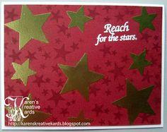 Karen's Kreative Kards: Reach for the Stars Color Challenge