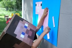 mine craft party games