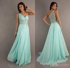 2014 New Chiffon Bridesmaid Evening Formal Party Ball Gown Prom Dress SZ 6-16