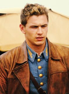 James Franco || 'Cowboy' from Flyboys  There's just something about men flying planes <3