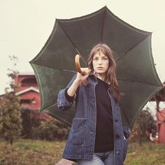 """""""Someone told me long ago There's a calm before the storm I know; it's been comin' for some time When it's over so they say It'll rain a sunny day I know; shining down like water"""" - Have you Ever Seen the Rain, Creedence Clearwater Revival  / #doencollective #janebirkin"""