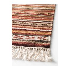 KATTRUP Rug, Handwoven by skilled craftspeople, and therefore unique.  This would be nice over a sisal rug in our living room....  $130