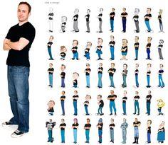 100 représentations différentes