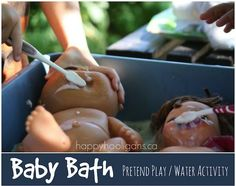 Baby Bath Station: Pretend Play Water Activity for Toddlers
