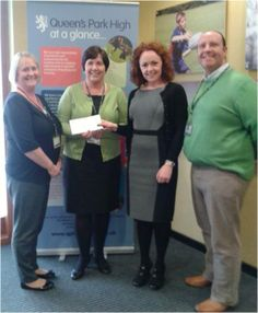 Congratulations to Queens Park High School in Chester for winning £488 in our Reward Scheme!