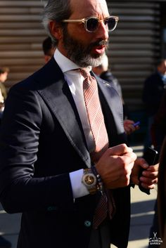 The Korean Barber - On the scene… Pitti Uomo 89 © thekoreanbarber.com