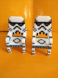 Sillas del guerrero de star wars hecho con hama beads