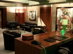 Modern Office Set Decorator Interior Designer Rick Romer TV Film Studio Hawaii by Rick Romer, via Flickr