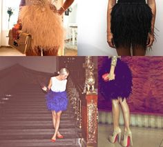 Feather Skirts <3