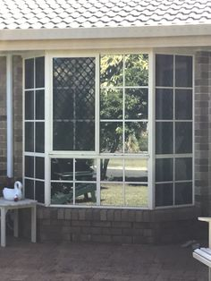 Home window tint reduces glare and temperature inside the house. Tinted House Windows, Frosted Window Film, Window Films, Home Office, Design, Decor, Decoration, Home Offices, Dekoration