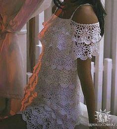23 modelos de Vestidos de Crochê ~ Arte De Fazer | Decoração e Artesanato