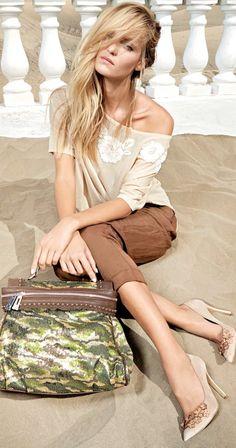 c02e75125e8e LOOKandLOVEwithLOLO  TWIN-SET by Simona Barbieri Spring Summer 2014  Collection I Love Fashion