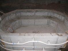 A 10x14 foot Concrete Hot Tub