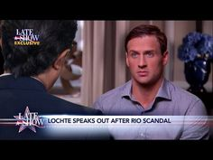 Stephen Colbert's Ryan Lochte 'interview' was the one we all wanted to see - The Washington Post