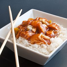 Slow Cooker Sweet and Sour Chicken (real recipe for the slow cooker)