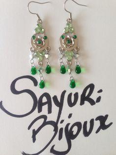Brinco c colagem de cristais swarowisk. Earrings handmade, brincos feito a mao, acessorios.