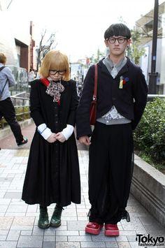 Japanese Guy in Christopher Nemeth & Blonde Girl in Uniqlo