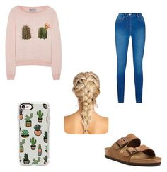 """""""cacti"""" by madelynnnnnnnne on Polyvore featuring Birkenstock, Casetify and Wildfox"""