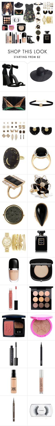 """Untitled #947"" by asiebenthaler ❤ liked on Polyvore featuring Kendall + Kylie, Essentiel, Charlotte Russe, Katerina Makriyianni, Andrea Fohrman, Kelly Wearstler, Kenneth Jay Lane, Ginette NY, Diane Von Furstenberg and Chanel"