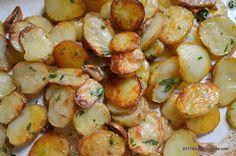 Cartofi noi cu usturoi la cuptor | Savori Urbane Shrimp, Potatoes, Meat, Vegetables, Breakfast, Ethnic Recipes, Food, Fine Dining, Potato