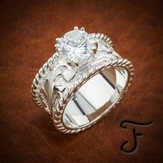 Browse a full inventory of western jewelry online. Discover handmade artisan jewelry, western rings, and one-of-a-kind items. Custom Wedding Rings, Diamond Wedding Rings, Bridal Rings, Wedding Jewelry, Wedding Bands, Diamond Rings, Country Wedding Rings, Wedding Vows, Shop Engagement Rings