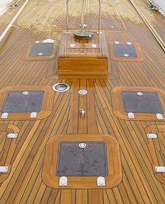 teak deck detail