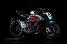 MV Agusta Brutale 2016   MV Agustas 2016 Brutale 800 gets an updated engine and revised chassis with new geometry helping the bike steer light at the track.  The Brutale name may have first appeared in the year 2000 and on the naked variation ofMV Agustas four-cylinder F4 but since 2012 its also been used to identify the naked version of the companys three-cylinder F3 675 and F3 800. Now in the first radical evolution of the Brutale since those models were introduced four years ago MV is…