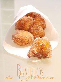 Buñuelos de Calabaza / Sweet Pumpkin Fritters