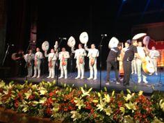 El Mariachi Show 2000 de Venezuela, abre la noche de la segunda Gala del Mariachi en el Teatro Degollado