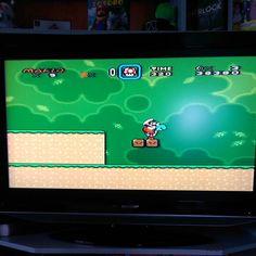 On instagram by icemann_rockerz #nes #microhobbit (o) http://ift.tt/1U6I4yg der langen Football Nacht ... jetzt Bisschen Super Mario zocken auf der NES #Supermario #NES #Nintendo #supermarioworld #Mario #Luigi #Yoshi