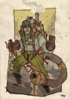 Scorpion Concept Steampunk Denis Medri