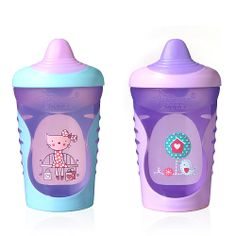 """Tommee Tippee Explora Easiflow Truly Spill Proof 11 Ounce Sippy Cup 2-Pack - Purple - Tommee Tippee - Toys """"R"""" Us"""