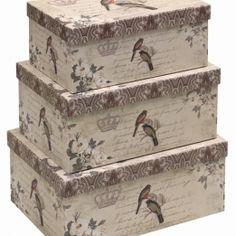 Vintage Boudior~Lingerie Boxes