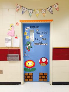 My classroom door probably the thing Im the most proud of this