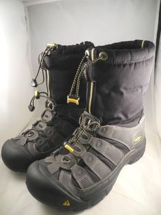 Keen Warm Dry Men's Boots Sz 8 Shoes LACERS Hiking Snow Black 8 | eBay