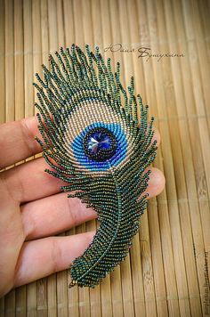 Bead embroidered and fringed – Japanese seed beads, firepolished crystals, nmetal findings. Hand Embroidery Flowers, Bead Embroidery Patterns, Bead Embroidery Jewelry, Beaded Jewelry Patterns, Fabric Jewelry, Beaded Embroidery, Beading Patterns, Couture Embroidery, Beaded Brooch