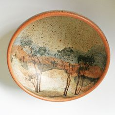 Taggerty Pottery. Bowl