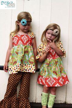 Girl's & toddler unique & original designs  MOMI boutique