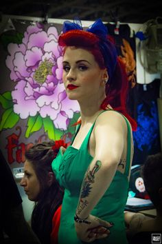 #TATTOO #COLOR #PEOPLE #STREET PHOTOGRAPHY #PINUP #GIRL #REDHEAD #PHOTOGRAPHERS #ORIGINALPHOTOGRAPHERS #PHOTOGRAPHY #EMANUELEMESCHINI